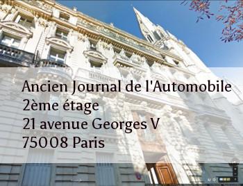 Nouvelle adresse des déjeuners - 21 Avenue Georges V 75008 Paris